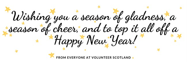 From Everyone At Volunteer Scotland