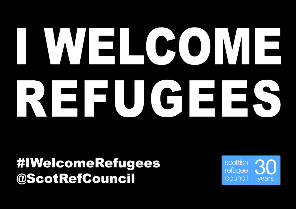 I welcome refugees image